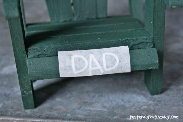 Father's Day Remote Vinyl