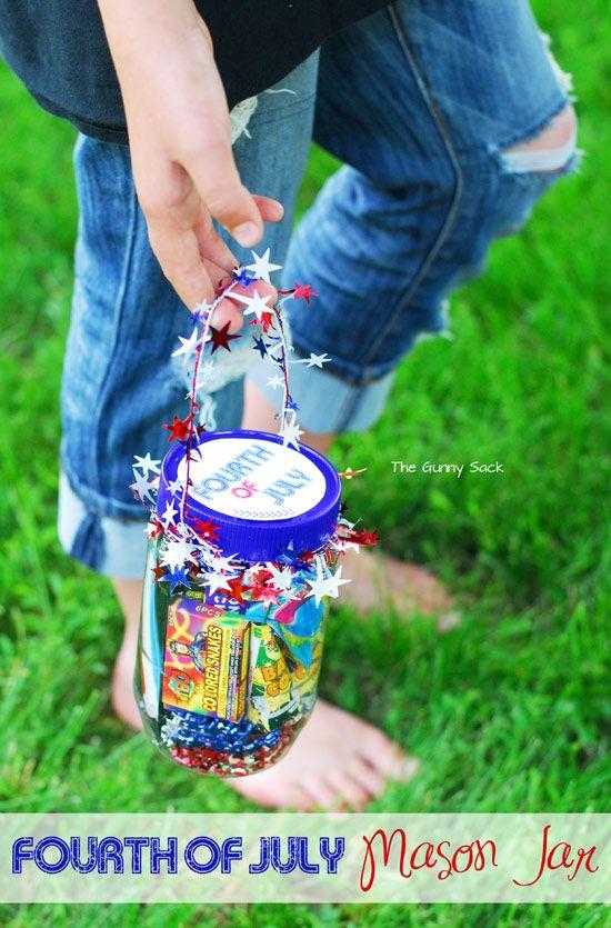 Fourth of July Jar by The Gunny Sack