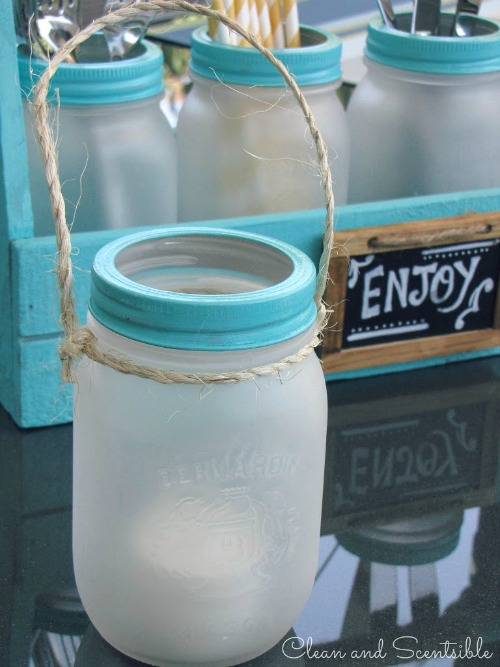 Frosted-Mason-Jars-by Cleans and Scenstible