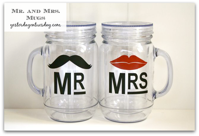 Fast and cute Mr. and Mrs. Mugs
