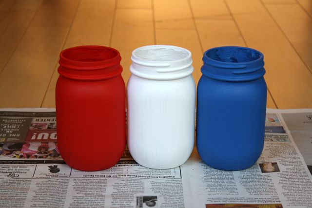 Patriotic Vases Paint