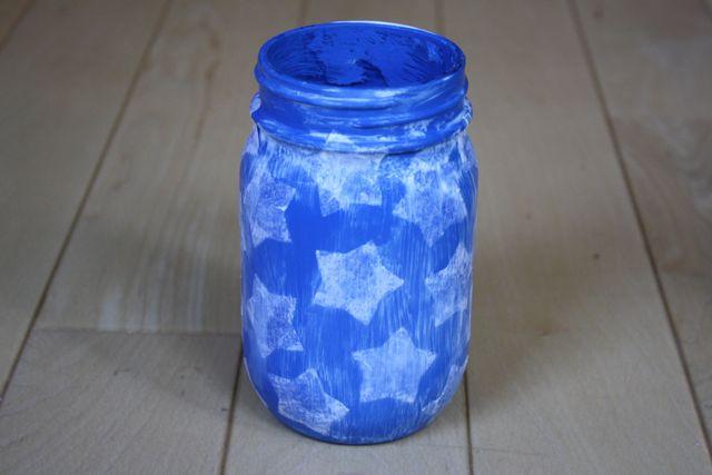Patriotic Vases Stars 4