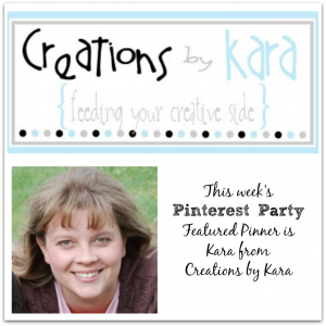 Creations by Kara, Pinterest Party featured pinner