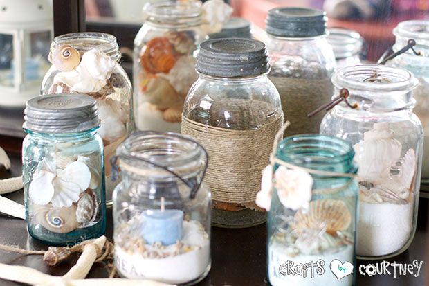 Summer Beach Decor by Crafts by Courtney