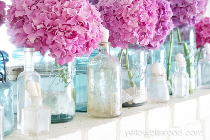 Sweet and Simple Summer Mantle by Yellow Bliss Road