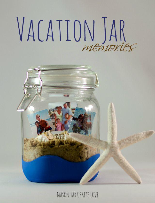 Vacation Jar Memories by Mason Jar Crafts Love