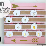 How to make a gorgeous Wedding Reception Seating Chart