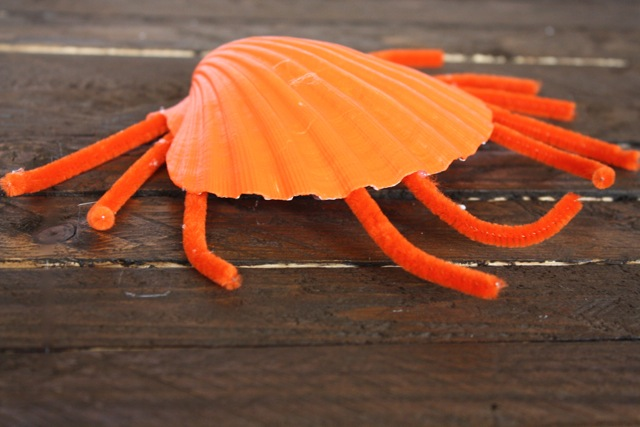 Cute Crabs Kid's Crafts