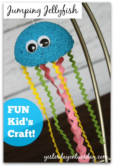 How to make Jumping Jellyfish Kid's Craft