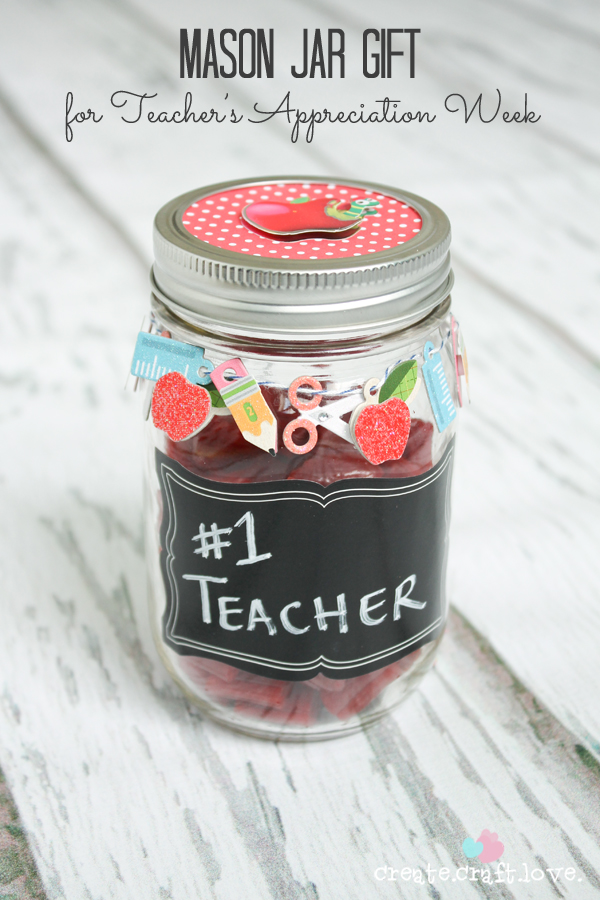 Mason Jar Gift from Create Craft Love