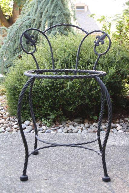 Chair - Painted Black