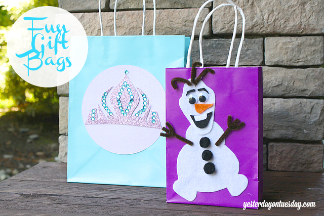 Frozen Craft Ideas #Frozen