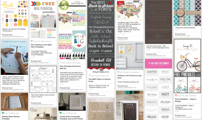 Home: Word Art & Printables