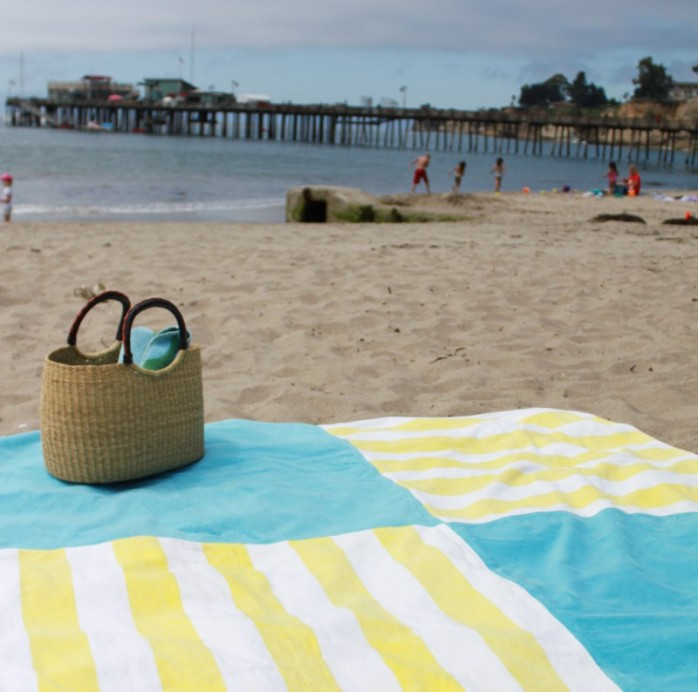 giant beach blanket