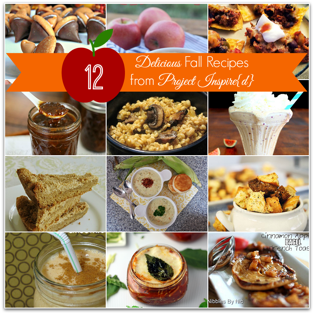 Project Inspire{d} Features: Delicious Fall Recipes