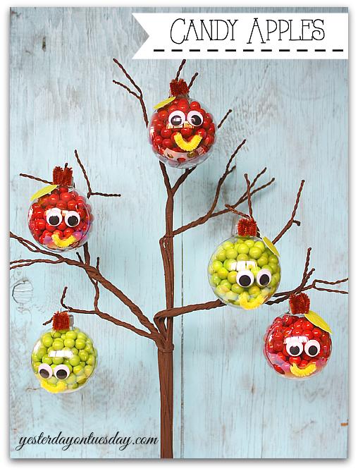 DIY Candy Apples