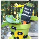 DIY Going Batty Flower Pot