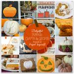 Amazing pumpkin projects and recipes #pumpkins #pumpkinrecipes #pumpkincrafts