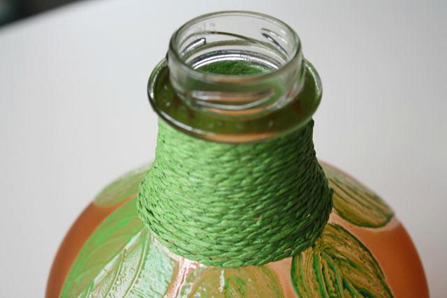 DIY Recycled Pumpkin Vase