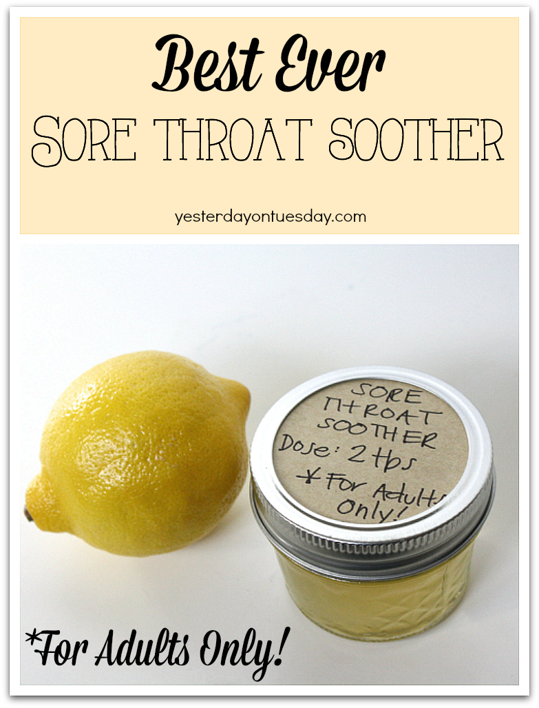 The Best Sore Throat Soother