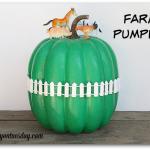 No Carve Pumpkins Farm Pumpkin