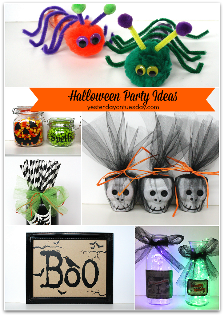 Easy Halloween Party Ideas #halloween #halloweenparty