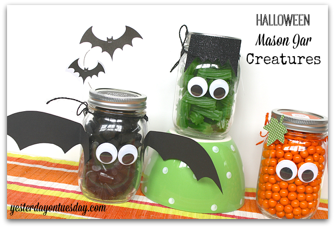31 Halloween Mason Jar Ideas