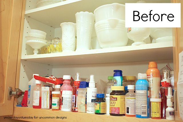Tips for Organizing Your Medicine Cabinet #organizing
