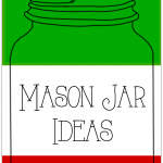 Thirty Mason Jar Ideas for Christmas including decor, gifts, crafts and more collected by https://yesterdayontuesday.com