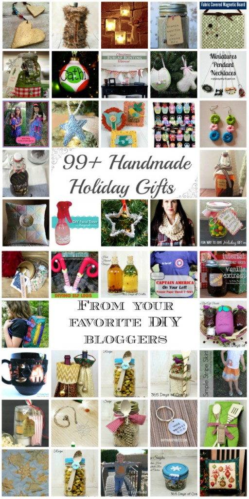 99+ Handmade Holiday Gifts and a Amazon Gift Card Giveaway