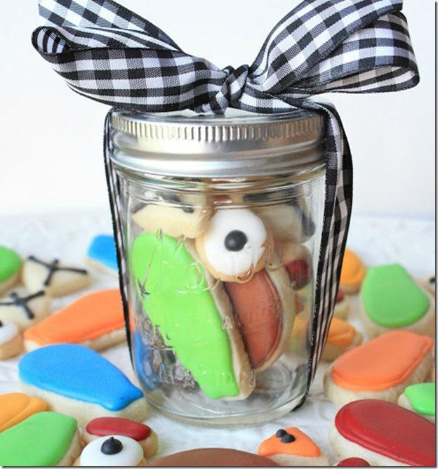 Turkey Cookie in a Jar