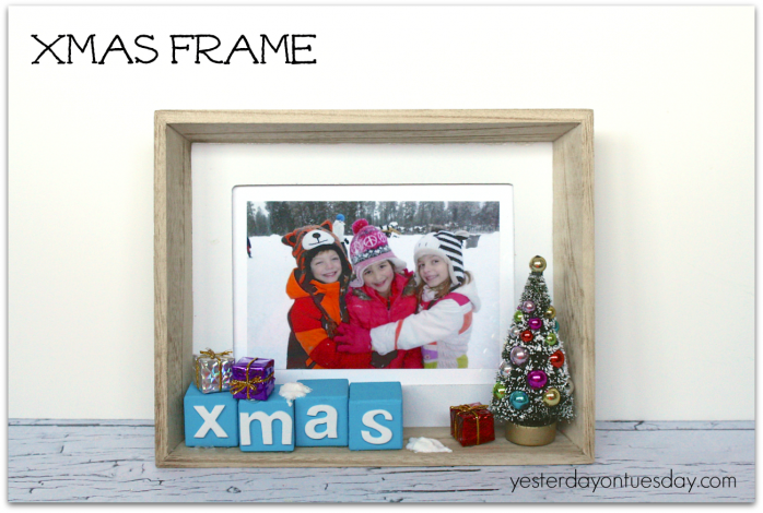 Cute Christmas decor from https://yesterdayontuesday.com
