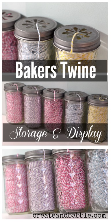 Bakers Twine Storage by Create and Babble