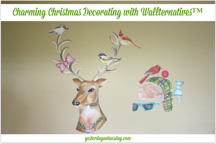 Charming Christmas Decorating with Wallternatives ™