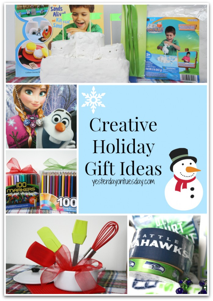 Great holiday gift ideas to encourage for encouraging creativity and fun