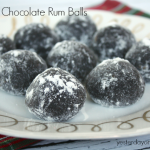 Recipe for Double Chocolate Rum Balls from http://yesterdayontuesday.com