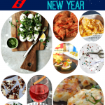 Festive Food ideas for New Year's Eve shared at Project Inspire{d} via http://yesterdayontuesday.com