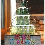Mason Jar Christmas Tree lovely Christmas decor from Yesterday on Tuesday