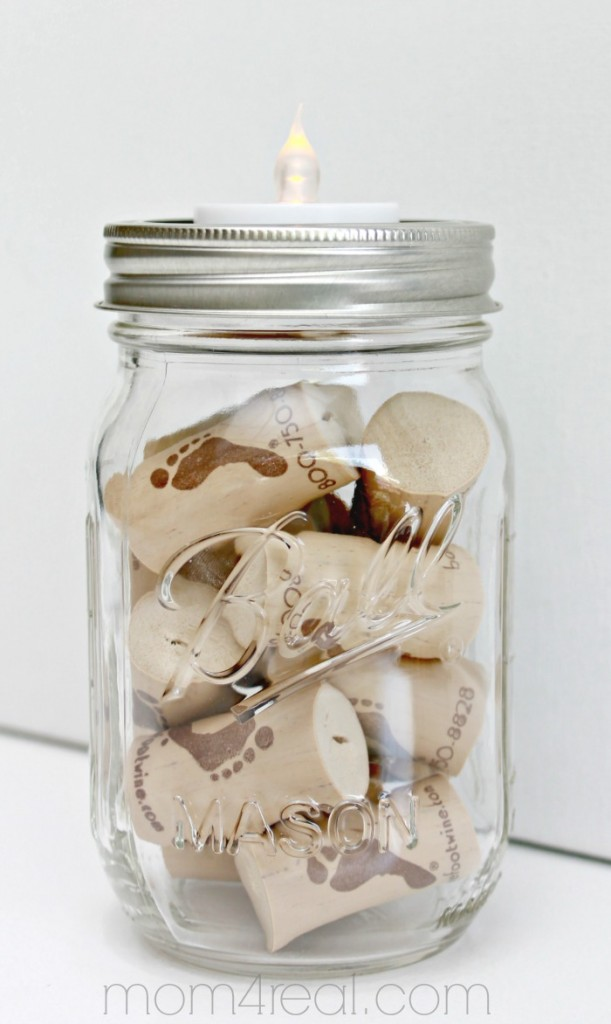 Mason-Jar-Tea-Light-Holder