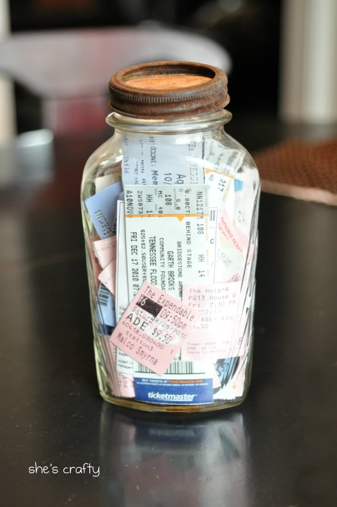 Memory Jar from She's Crafty