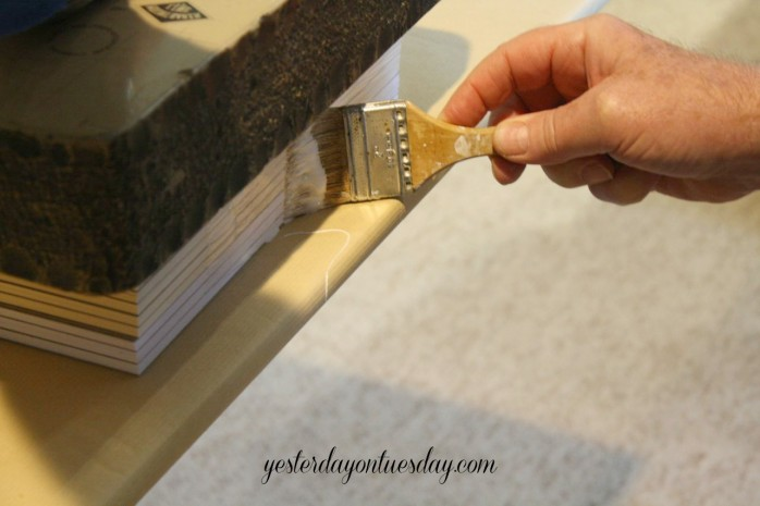 How to make DIY Scratch Pads for yourself or as a thoughtful gift idea from http://yesterdayontuesday.com
