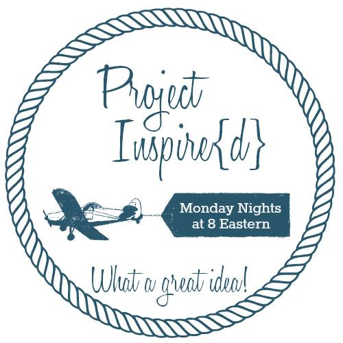 Project Inspire{d} weekly link party for crafts, DIY and recipes