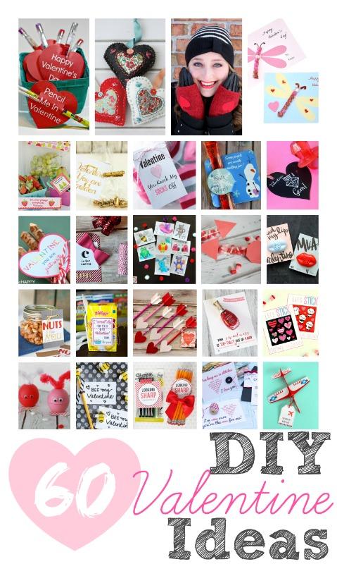 60 DIY Valentine Ideas #DIYValentine
