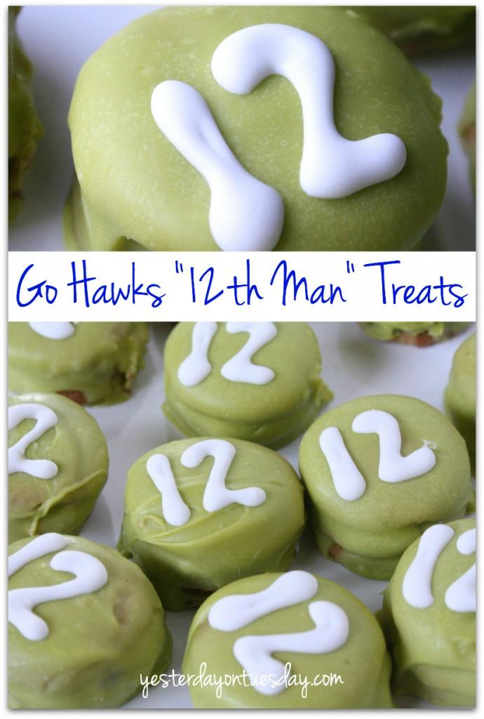 Go Hawks Twelfth Man Treats #gohawks  #seahawks