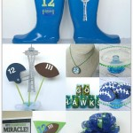 Go Hawks Party Ideas and More for The Big Game #seahawks #thebiggame