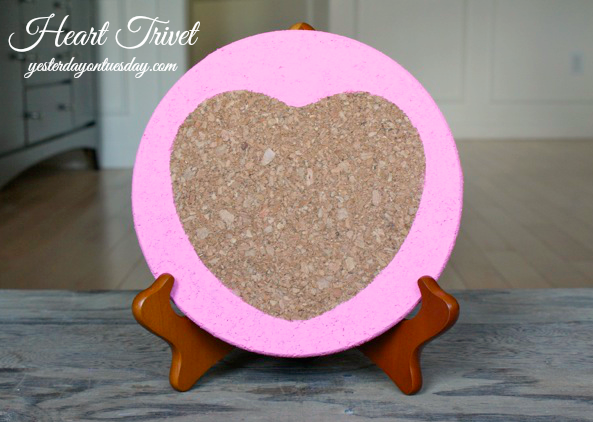 DIY Heart Trivet