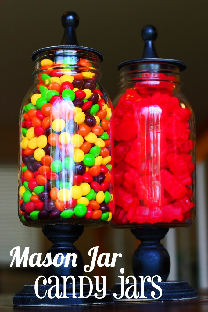 Mason Jar Candy Jars from Oopsey Daisy