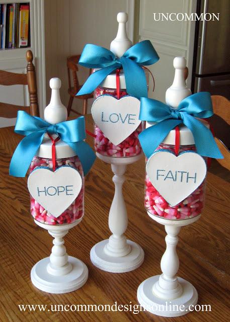 Valentine Apothecary Jars Uncommon  Designs