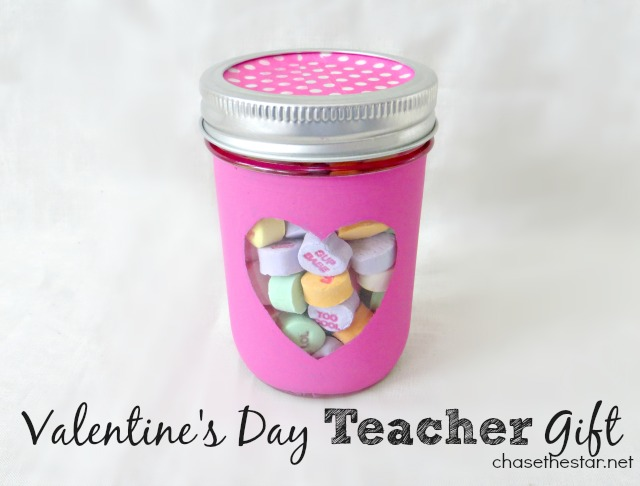 Valentine's Day Teacher gift from Chase the Star