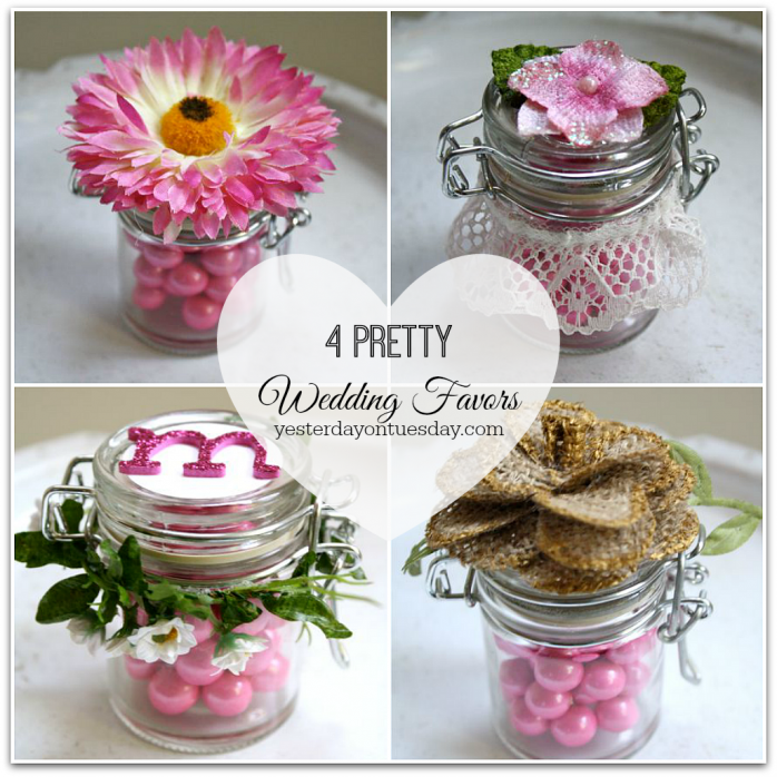 Mason Jar Wedding Favor Ideas